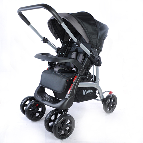 kinderwagen buggy delux sportwagen jogger kindersportwagen. Black Bedroom Furniture Sets. Home Design Ideas
